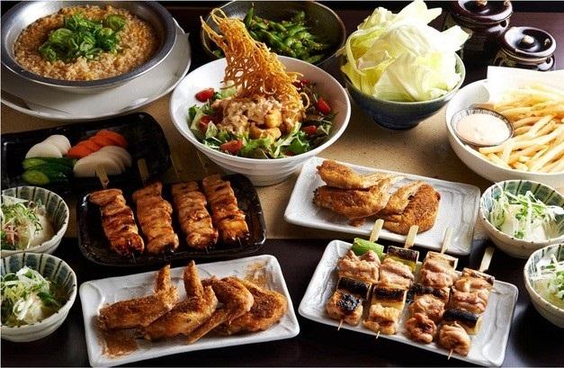 とりいちず 駒込東口駅前店の食べ飲み放題コース